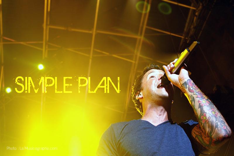 Simple Plan - Festival d'été de Québec 2011