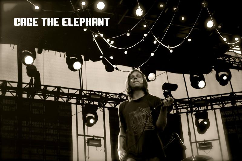 Cage The Elephant - Festival d'été de Québec 2011