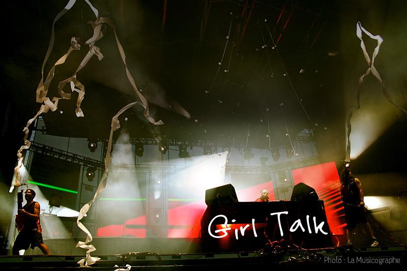 Girl Talk - Festival d'été de Québec 2011