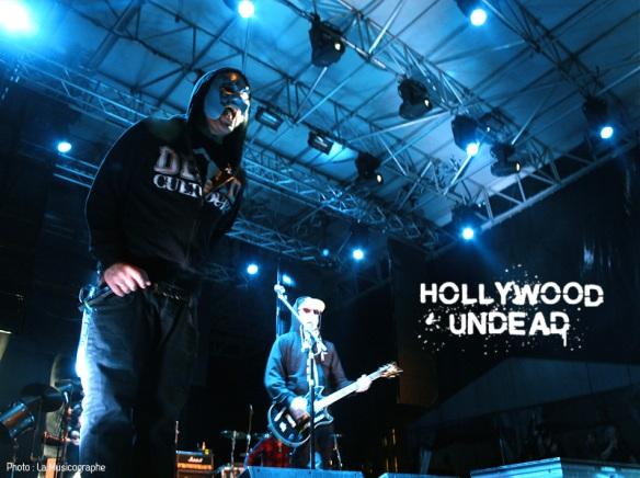 Hollywood Undead - Festival d'été de Québec 2011